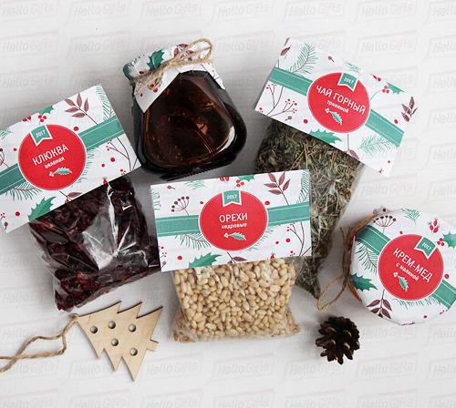 Вкусные подарки на новый год 2018