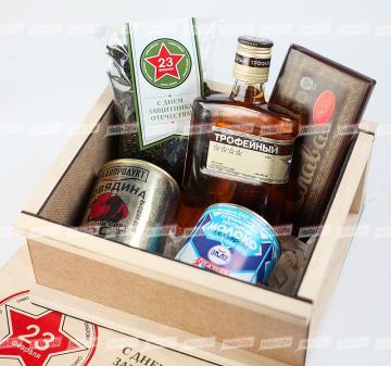 ПРАЗДНИЧНЫЙ ПАЁК | ПОСЫЛКА К 23 ФЕВРАЛЯ | Оригинальные и полезные бизнес-подарки на 23 февраля  | сувениры и подарки  на 23 февраля  с логотипом