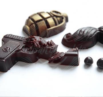 Шоколадный набор БОЕКОМПЛЕКТ «САМИ С УСАМИ» ПОДАРКИ НА 23 ФЕВРАЛЯ