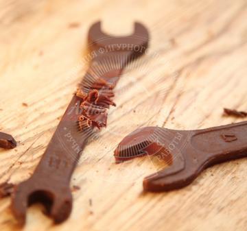 подарок на день строителя. Шоколадные инструменты. Новогодние подарки для мужчин.