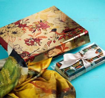 Подарки клиентамна  8 марта 2020 | -Женский головной платок 70х70, шелковый с авторским принтом.  Креативный шоколад, подарочная упаковка кашированный картон. Брендирование. Изготовление, пошив платков по вашему ТЗ. Дизайн-макеты платков.