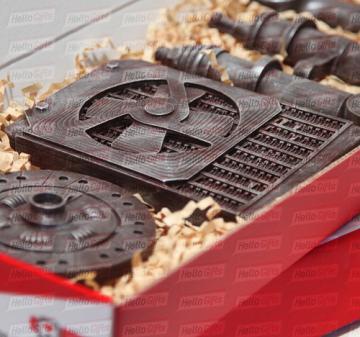 Автозапчасти из шоколада| Шоколадные барельефы | Оригинальные корпоративные подарки клиентам