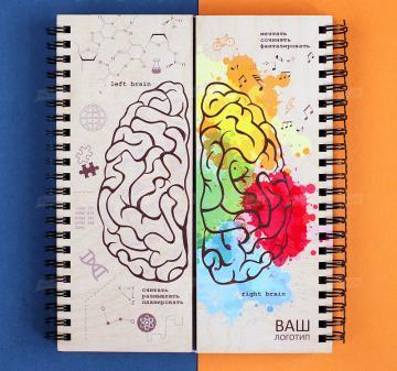 канцтовары,  Блокнот Мозги
