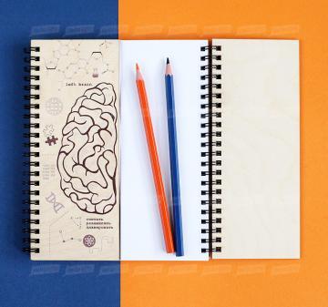 канцтовары,  Блокнот Мозги | Подарки фармацевтам и медицинским работникам | Креативные корпоративные подарки на любое событие