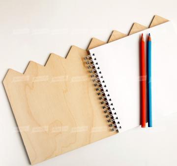 Блокноты из дерева по индивидуальному дизайну