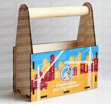 Производство упаковки на заказ  на 8 марта | Чай  и сладости с логотипом