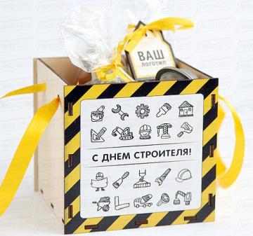 Корпоративные подарки строителям | ЧАЙ ДЛЯ СТРОИТЕЛЯ | VIP комплектация