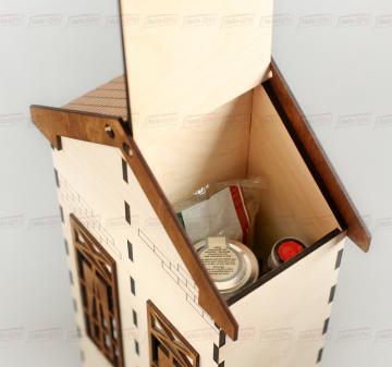 ФУТЛЯР ДЛЯ АЛКОГОЛЯ | Два отделения Деревянные коробки для вина (футляры для вина, пеналы и сеты для вина)  с доставкой по России.