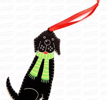 Корпоративные сувениры и подарки с логотипом к Новому 2018 году. Игрушки из дерева