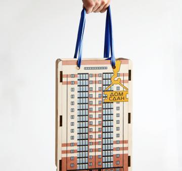 Подарочная упаковка. Подарки строителям