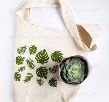 Корпоративные подарки для женщин на 8 марта | эко-сумка шоппер с принтом