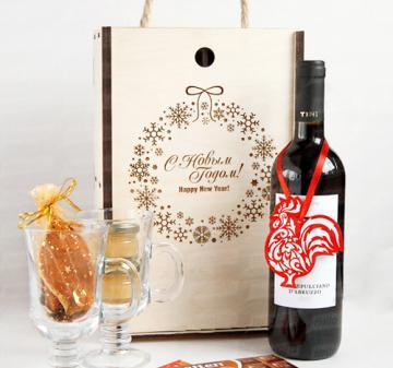 ГЛИНТВЕЙН Новогодние корпоративные подарки 2018  с алкоголем