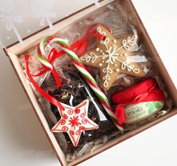 Вкусные и полезные новогодние подарки