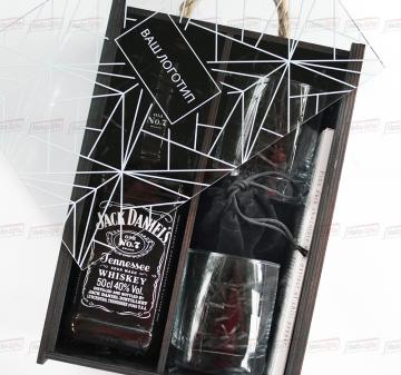 кейс для  алкоголя с логотипом.  Подарочный VIP набор для мужчин