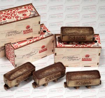 Подарки день машиностроителя|подарки железнодорожникам | Уникальные фигурки из шоколада в подарочной упаковке, выполненной в корпоративном стиле вашей компании  в москве
