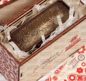 полный цикл работ по созданию подарка: разработка дизайн-макета, создание индивидуальной 3D-модели вашего сувенира, изготовление индивидуальных форм и отливка шоколадных фигурок, производство подарочной упаковки в москве