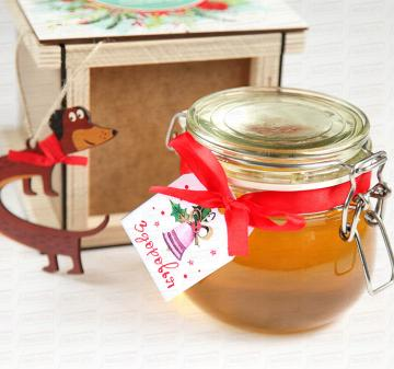 Корпоративные съедобные подарки и сувениры | Сувениры с мёдом | мёд с логотипом