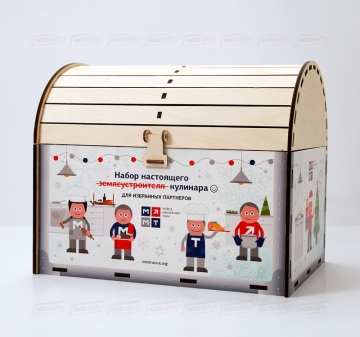 Производство упаковки для подарков из дерева