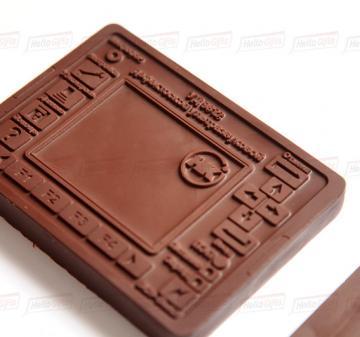 Корпоративные подарки из шоколада от производителя
