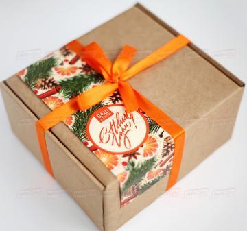 Подарочная упаковка на заказ Короративные подарки 2019  съедобные сувениры с логотипом коллегам, клиентам   и деловым партнерам