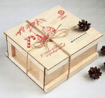 Посылочный ящик | Посылка к Новому году