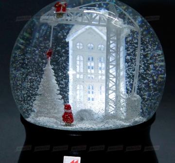 Снежные шары по индивидуальному макету