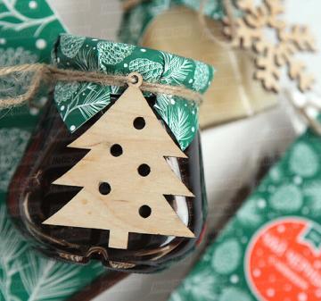 Чай Мёд Сладости | Новогодние подарки 2018 | Подарки коллегам и  бизнес партнерам к Новому году