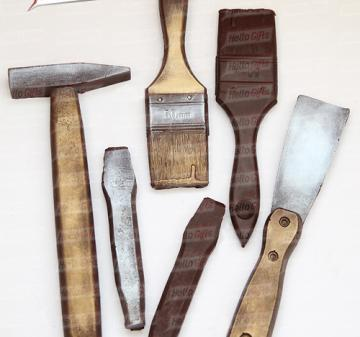 Шоколадные инструменты | Инструменты из шоколада  | Корпоративные подарки строителям | Подарки строителям,  производителям  строительных  и отделочных материалов |