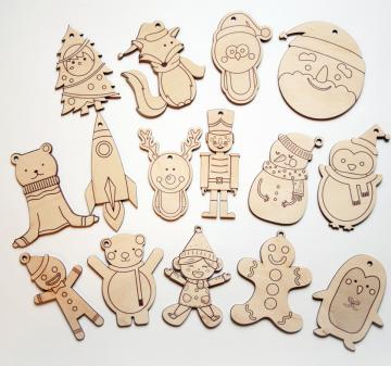 Ёлочные игрушки | с логотипом