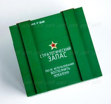 Упаковка для корпоративных подарков на 23 февраля | Подарочная упаковка из дерева оптом от производителя. Доставка по России