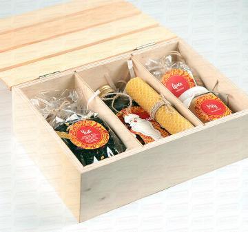 ЗОЛОТЫЕ УЗОРЫ | Ящик с продуктами