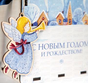 Новогодние сувениры и подарки c логотипом | Корпоративные новогодние подарки 2018