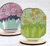 Корпоративные сувениры и подарки для женщин. Дизайнерские игрушки из дерева с Вашим логотипом  на 8 марта