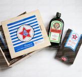 оригинальные подарки с логотипом коллегам по работе на 23 февраля  из шоколада в подарочной упаковке, выполненной в фирменном стиле вашей компании
