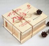 Новогодние корпоративные  подарки с логотипом | Подарки коллегам и партнерам по бизнесу на 2018 год | Съедобные вкусные оригинальные подарки  на заказ