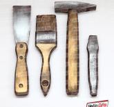 Шоколадные инструменты | Подарок строителю. Молоток, зубило, шпатель и малярная кисть из шоколада|Инструменты из шоколада  | Корпоративные подарки строителям |