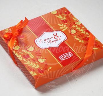 8 Марта | Шоколадный набор с логотипом