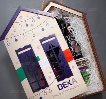 Производство индивидуальной упаковки для подарков из дерева оптом