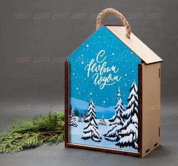 Производство подарочной упаковки из дерева на Новый год 2020