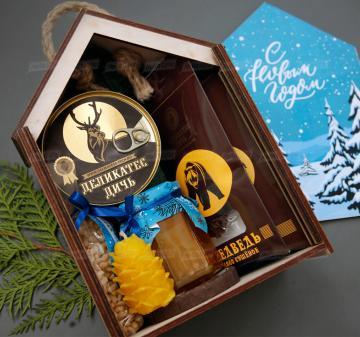 Оригинальные новогодние подарки оптом  2021