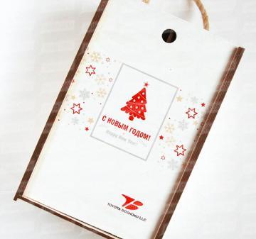 Производство подарочной упаковки на Новый год