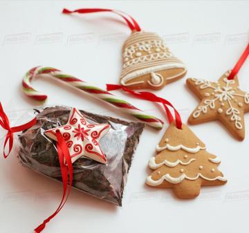 Корпоративные подарки контрагентам  с чаем и сладостями