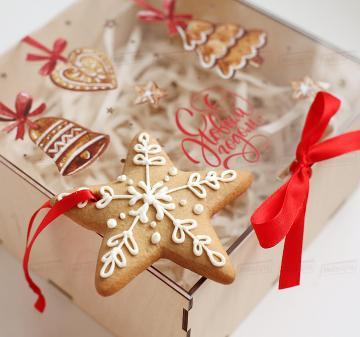 Подарок клиентам, сотрудникам и бизнес партнерам на Новый год с логотипом