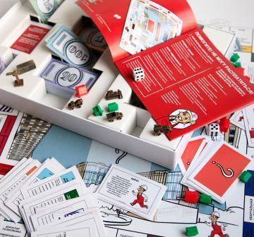 Разработка и производство корпоративной настольной игры Монополия