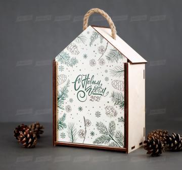 Упаковка для подарков с логотипом