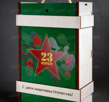 Подарочная упаковка на заказ из дерева оптом