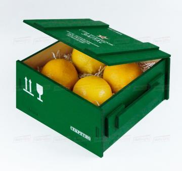 Упаковка для корпоративных сувениров на День защитника Отечества | Подарочная упаковка из дерева оптом от производителя. Доставка по России
