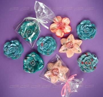 Фигурный шоколад цветы на заказ